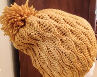 The Rolling Waves Slouchy Hat