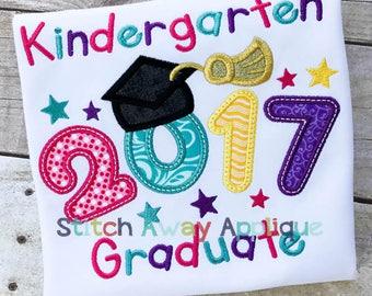 2017 Grad Graduation Machine Applique Design