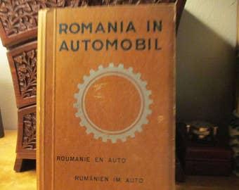AutoClub Travel Book of Romania 1946