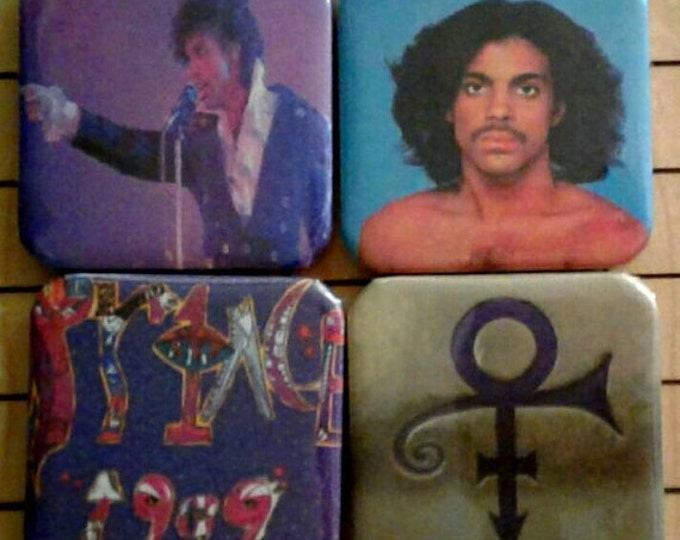 Prince, Magnets, Prince Art, Fridge Magnets, Small Magnets, Prince Symbol