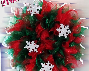 Christmas Time Deco Wreath