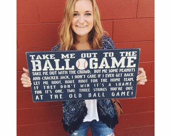 Take me out to the ball game!