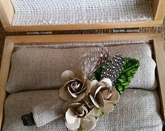 Boutonniere, Natural and Simple