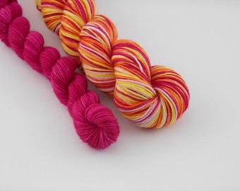 LOVE SOCK self-striping, 019, merino nylon sock yarn,100g