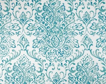 Scroll Gate Blueberry fabric by P Kaufmann