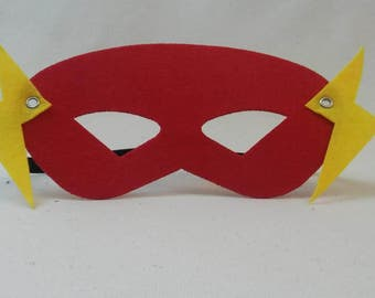 The Flash Costume Mask Party Favor Cosplay