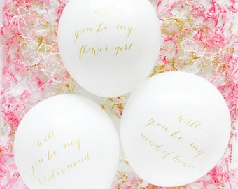 NEW! Will You Be My? Balloons - 12 inch - Single Balloon