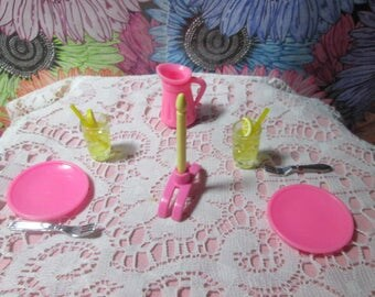Barbie dinner for two