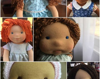 """CUSTOM WALDORF DOLL — *July 2017*- Introductory Price— 15"""" or 20"""""""