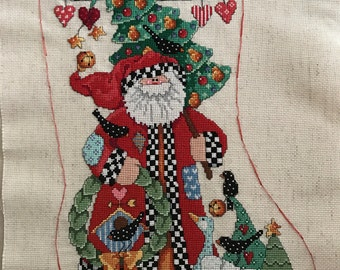 Country Folk Stocking