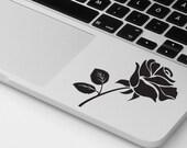 Macbook pro stickers laptop flower decal rose sticker roses decal MacBook pro decals laptop skin rose decal rose sticker  Macbook skin