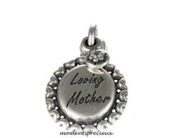 Authentic Pandora Loving Mother Pendant