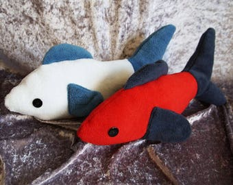 Fish Plush Prop, Fursuit Prop, Fish Plushie, Ready To Ship