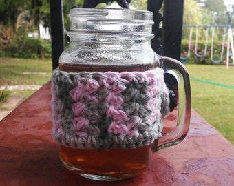 Crochet Mug Cozy, Tea Cozy, Coffee Cozy