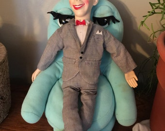 Pee Wee Herman doll with Chairy