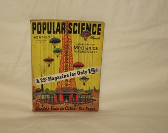 vintage march 1939 popular science magazine