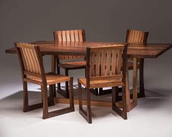 Claro Walnut and Madrone Chairs