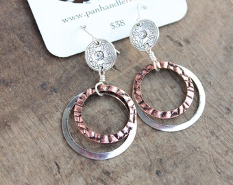 Cabin Fever Classic Earrings by Panhandle Red