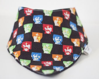 Beatles Inspired Bandana Bib
