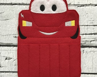 Race Car Crayon Holder * Party Favor * Birthday Gift * Boy Gift
