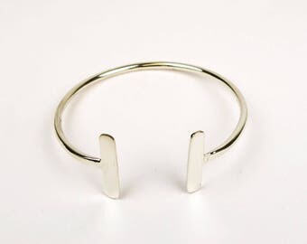 DEVA - Bangle Bracelet-silver