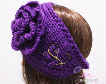 Ear Warmers, Headband, Embroidery, Crochet headband, knit headband, knit headwrap, knit ear warmer, gift for women, winter headband,