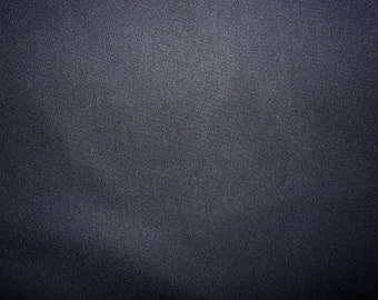 Fabric - cotton sweatshirt jersey fabric - dark navy