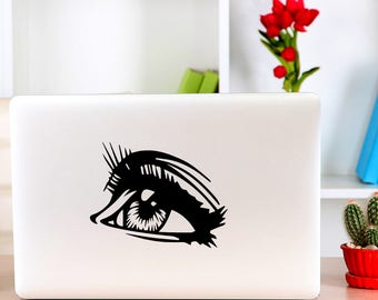 Mac Decal, Eye Sticker, Apple Macbook and other laptop Stickers and Decals