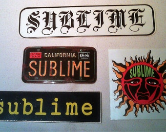 Sublime STICKERs DECALs