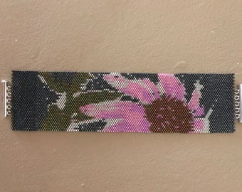 SALE! ONE-Of-A-Kind!  Floral Bracelet With Lots Of Sparkle