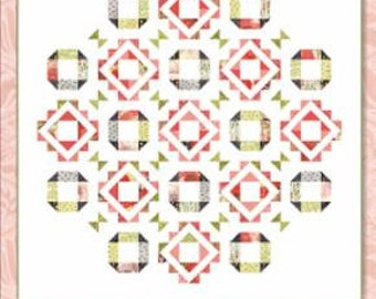 Fair and Square Quilt pattern designed by Robin Pickens