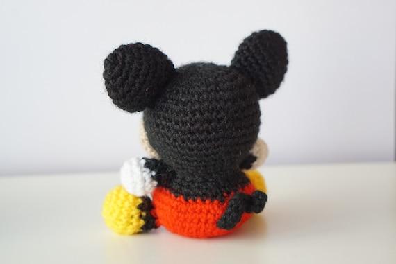 MICKEY Mouse Disney Amigurumi Pattern Baby Easy DIY PDF ...