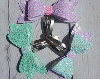 Set of 3 Pastel summer bows!