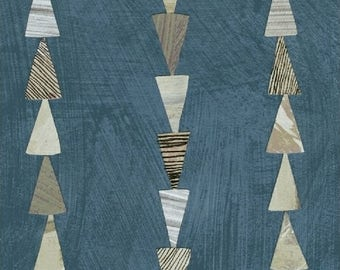 Dreamer - Stripe Ocean - Carrie Bloomston - Windham (42574-11)
