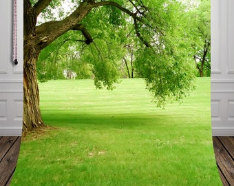 photo studio photographic background for children hot sale green grass backdrop D-662