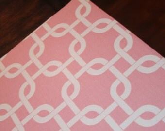 "Magnetic Board, Bulletin Board, Magnet Board, Fabric Bulletin Board, Baby Pink Fabric (20"" x 45"")"