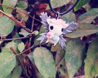 """Necklace Handmade Mystic Creature Hada""""Diamante de Luz Creaciones"""""""