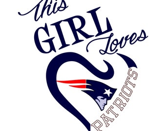 Clip Art New England Patriots Clipart new england patriots svg etsy this girl loves file