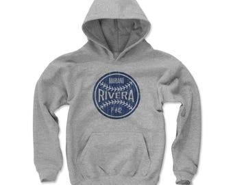 Mariano Rivera Ball B New York Officially Licensed Youth Hoodie S-XL