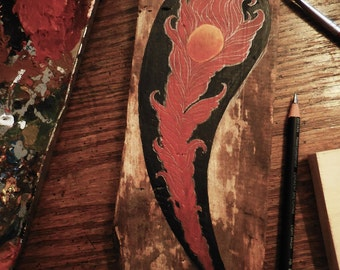 Firebird feather