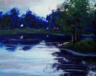 Lake at Twilight