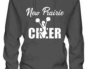 NP Cheer Hooded Ladies Sweatshirt