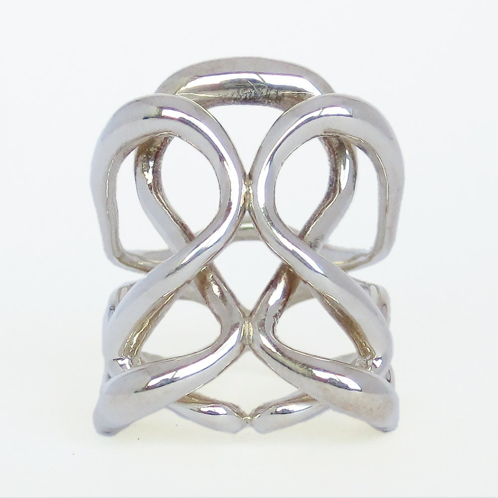 infinity ring infinity jewelry silver infinity ring