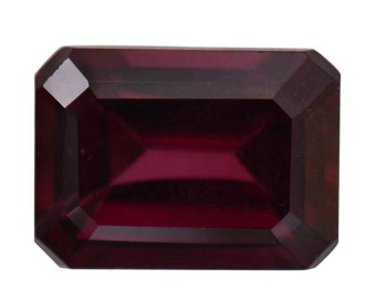 Rhodolite Garnet Octagon Cut Loose Gemstone 1A Quality 7x5mm TGW 1.00 cts.