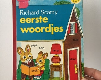 Vintage children's book Richard Scarry