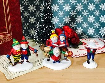 Vintage Department 56 Sing a Song for Santa Heritage Village Collection Dept 56 1993 Number 5631-6