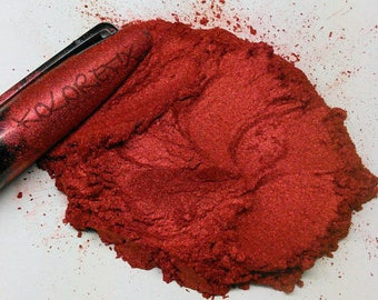 Ripe Red Pearl Pigment Fine Mica Powder