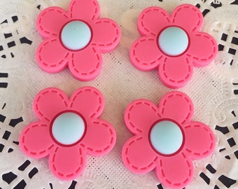 2pcs.27mm.Miniature Cabochon Flower,Miniature Flower,Cabochons,Miniature Sweet,Miniature Cabochon,DIY,Mobile case