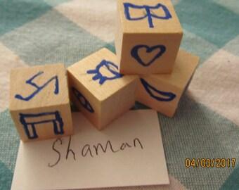 Shaman Rune Dice Divination