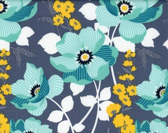Monarch in Mint, Atrium Collection by Joel Dewberry for Free Spirit Fabrics 4241